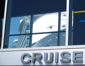 Cruise Port Sign photo