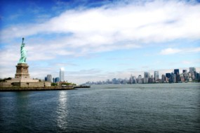 New York Harbor cruise photo