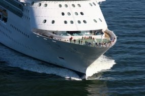 Mega Cruise Ship photo