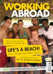 Working Abroad Magazine Cover Pic