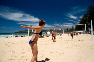 Australia Beach Volleyball photo