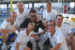 Cruise Crew On Deck photo