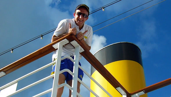 Working on a Cruise Ship photo