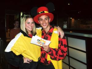 entertainers on disney cruise line photo