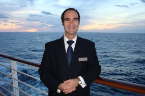 cruise ship spa manager photo