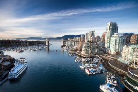 Vancouver cruise harbor photo