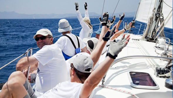 Yacht Sailing Crew photo
